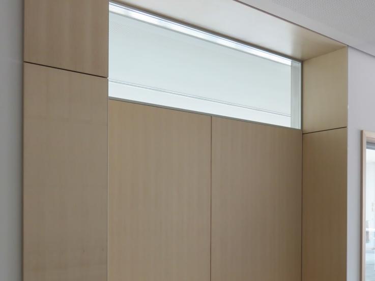 Innenfenster trockenbau  Oberlichter in Trennwand mit der Innenverglasung Planline ...